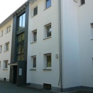 Naturstein an der Fassade