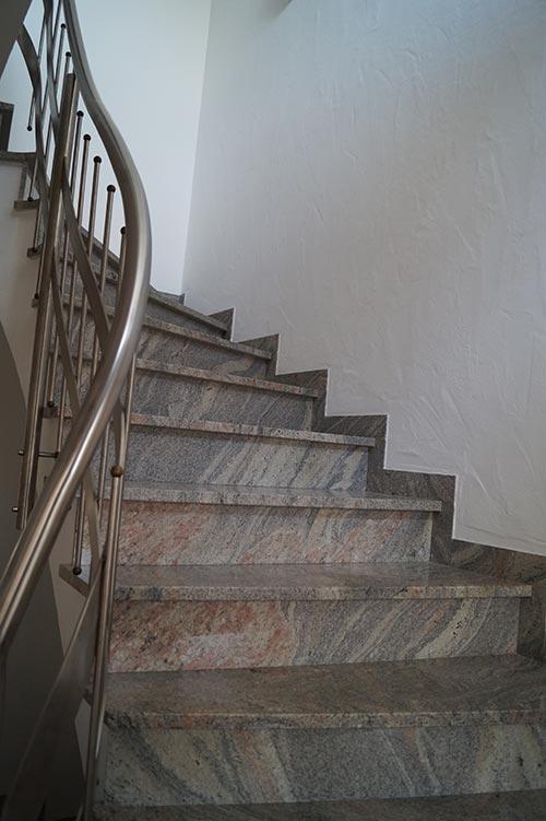 Marmor-Treppe